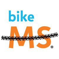 Bike MS logo white