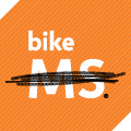 Bike MS logo orange